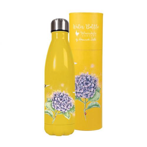 Wrendale 500ml Water Bottle - 'Hydrangea'