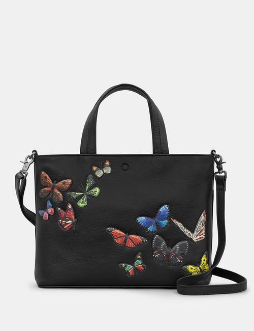 Yoshi Amongst Butterflies Multiway Grab Bag - Black