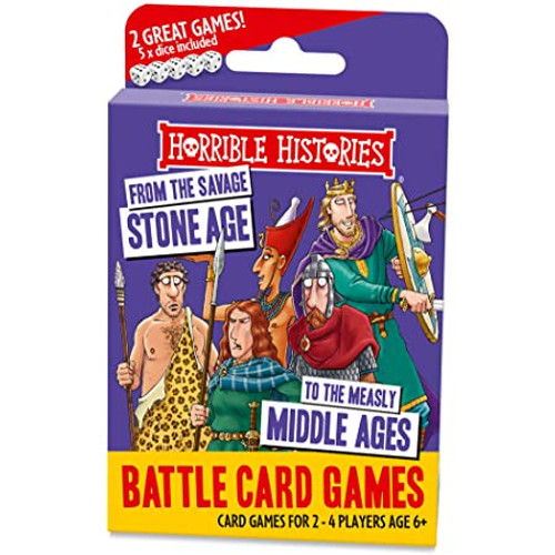 Horrible Histories Battle Card Games - Savage Stone Age
