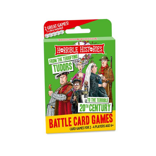 Horrible Histories Battle Card Games - Terrifying Tudors