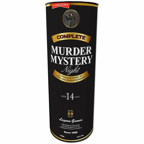 Complete Murder Mystery Night Game