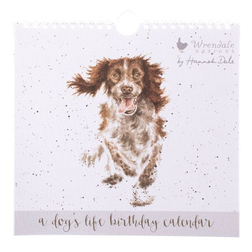 Wrendale A Dogs Life Birthday Calendar - NOW WITH 75% OFF