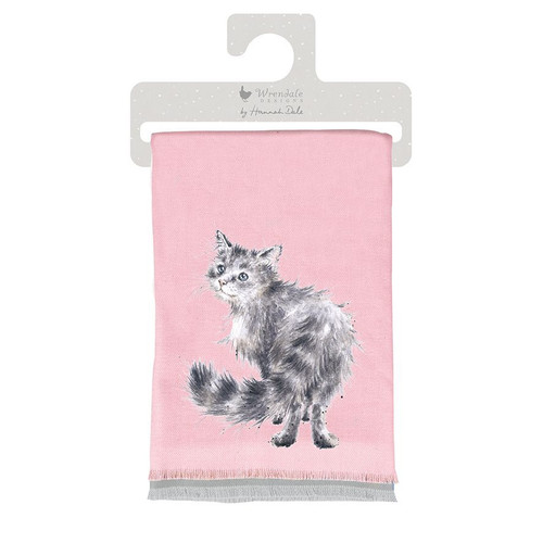 Wrendale Glamour Puss Winter Scarf