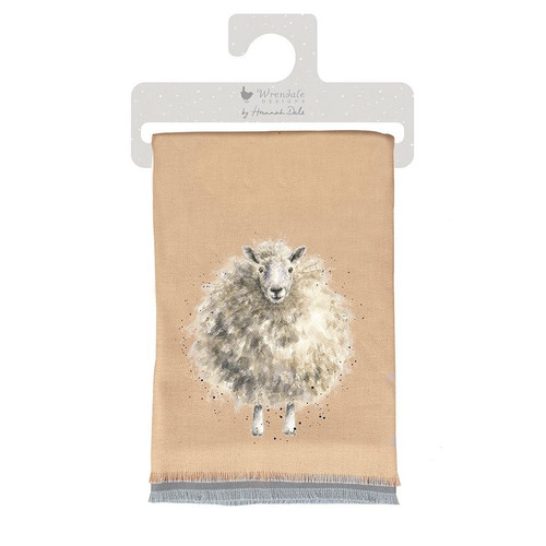 Wrendale The Woolly Jumper Winter Scarf Sheep