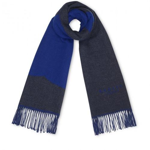 Radley  Colour Block Scarf Charcoal/Blue