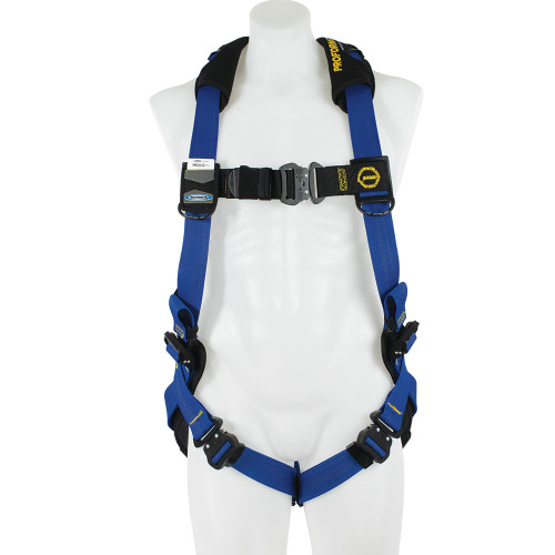 Werner Fall Protection - PROFORM F3 Standard Harness // Quick Connect Legs Straps