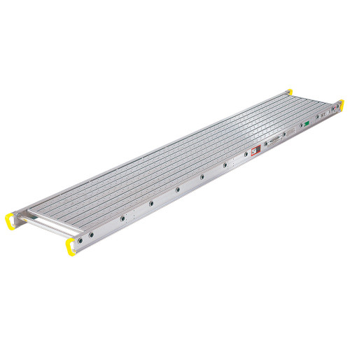 "Werner 2600 Series Aluminum Stages // 24"" Wide - 500 lb Capacity"