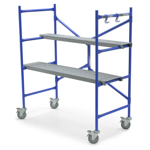 Werner PS-48 4' Rolling Scaffold // 500 lb Load Capacity
