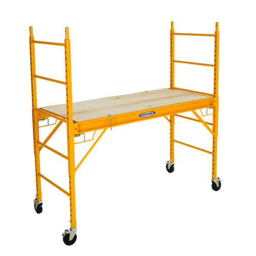 Werner SRS-72 Steel Rolling 6' Scaffold // 1000 lb load capacity