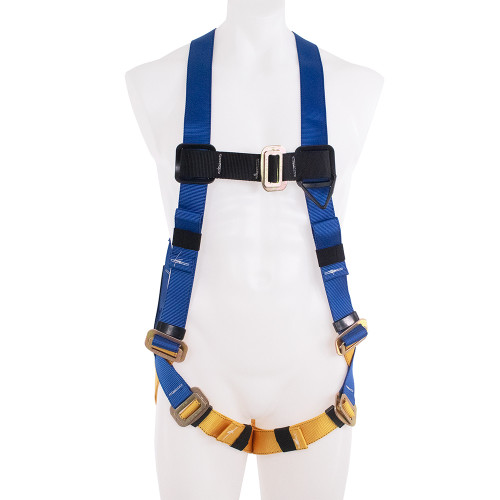 Werner Fall Protection - H411002 Basewear Standard Pass-thru Harness // 1 D-RING - Universal