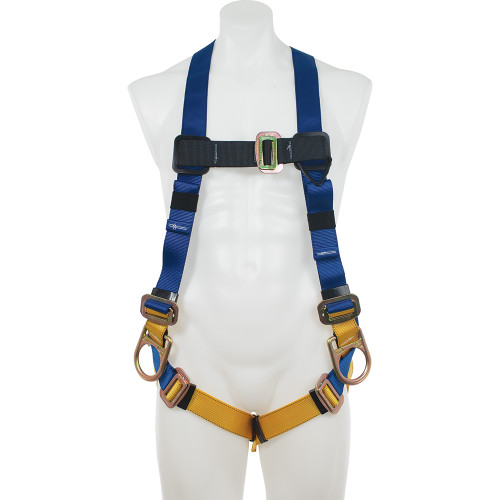 Werner Fall Protection - H431002 Basewear Positioning Pass-thru Harness // 3 D-RINGS - Universal