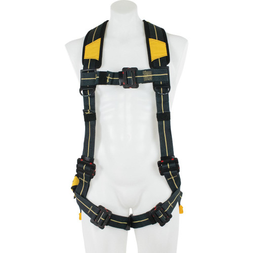 Werner Fall Protection - Blue Armor Arc Flash Dielectric Harness Standard /  Pass Thru Legs