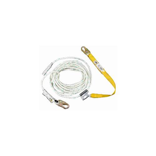 """L232050 50' Rope w/ 18"""" Positioning Lanyard by Werner"""