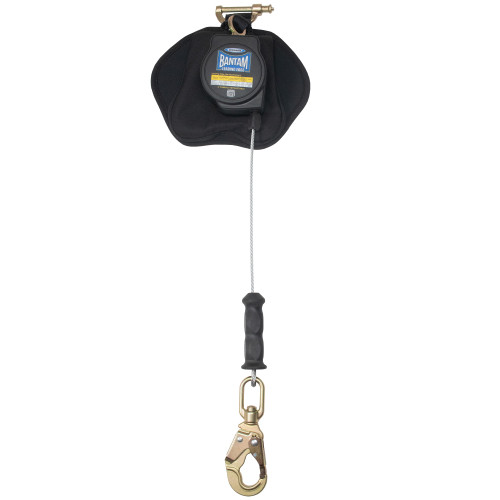 R410008LE Bantam 8' Cable Self-Retracting Lifeline LE - Thermoplastic Housing w/Snap Hook by Werner