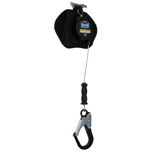R410008LE-R Bantam 8' Cable Self-Retracting Lifeline LE - Thermoplastic Housing w/Aluminum Rebar by Werner