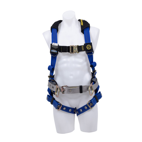 H03310_XSPROFORM F3 Construction Harness // Tongue Buckle Leg Straps // Steel Hardware by Werner
