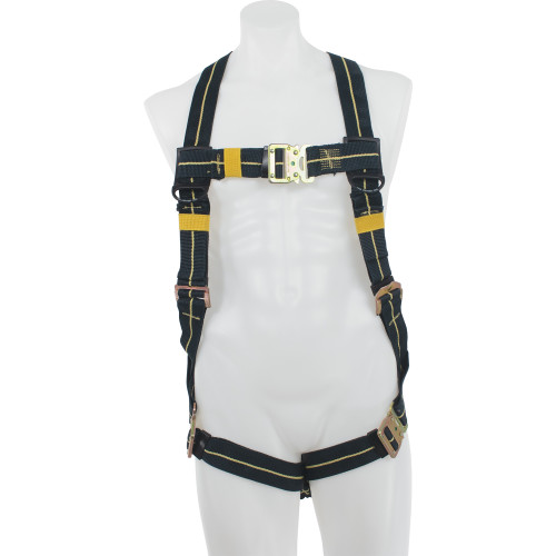 H91300_ Blue Armor Welding Standard Harness, Quick Connect Legs by Werner