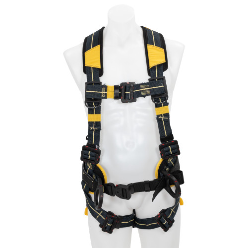 H93410_ Blue Armor Arc Flash Construction Harness, Pass Through Legs by Werner