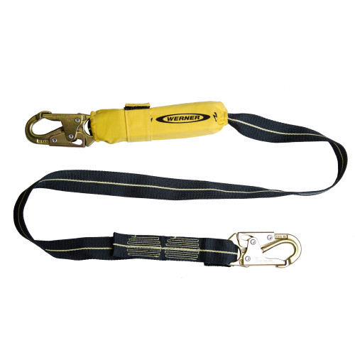 C811100 SoftCoil Arc Flash Lanyard (Snaphooks) - 6' by Werner