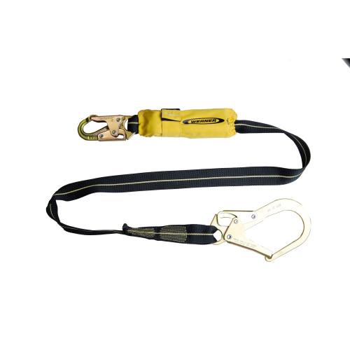 C811200 SoftCoil Arc Flash Lanyard (Snaphook, Rebar Hook) - 6' by Werner