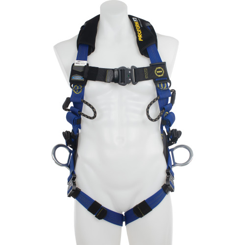 H06300_ PROFORM Climbing/Positioning Harness, Quick Connect Legs by Werner