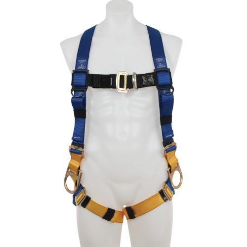 H36100_ LITEFIT Climbing/Positioning Harness, Pass Through Legs by Werner