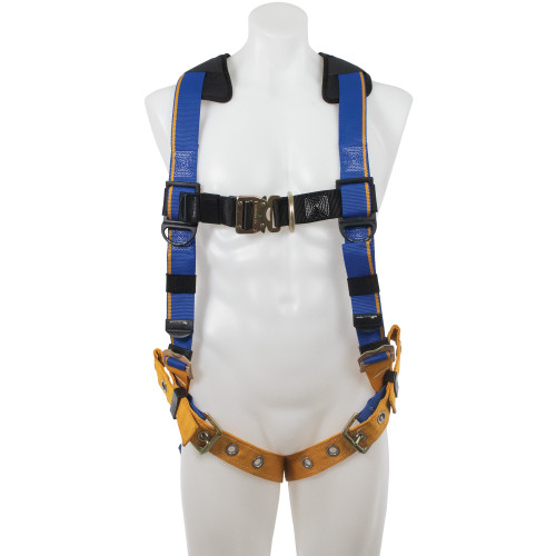 H12200_ Blue Armor 2000 Climbing Harness, Tongue Buckle Legs by Werner