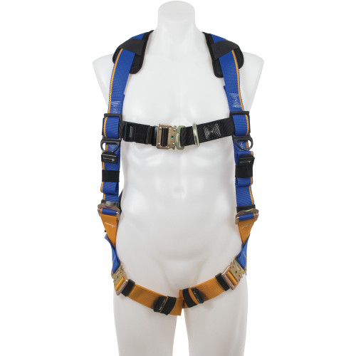 H12300_ Blue Armor 2000 Climbing Harness, Quick Connect Legs by Werner