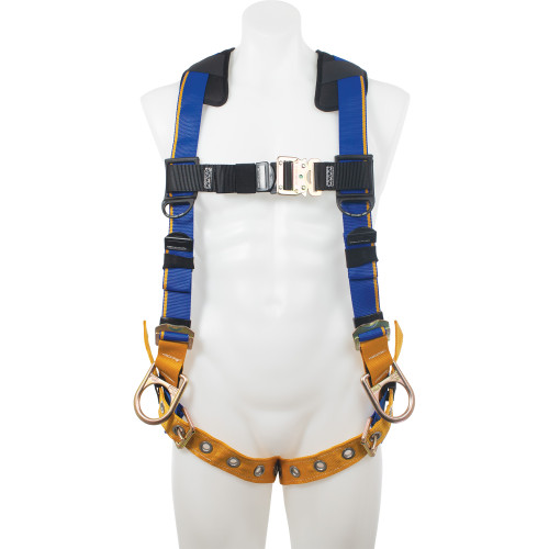 H13200_ Blue Armor 2000 Positioning Harness, Tongue Buckle Legs by Werner