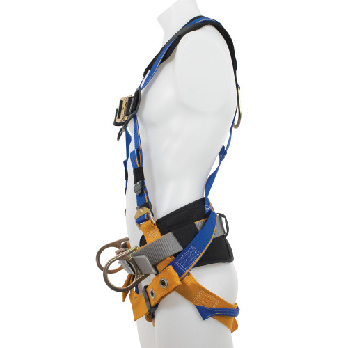 H13210_ Blue Armor 2000 Construction Harness, Tongue Buckle Legs by Werner