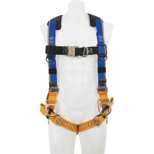 H16200_ Blue Armor 2000 Climbing/Positioning Harness, Tongue Buckle Legs by Werner