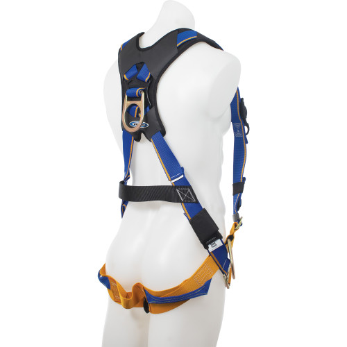 H16300_ Blue Armor 2000 Climbing/Positioning Harness, Quick Connect Legs by Werner