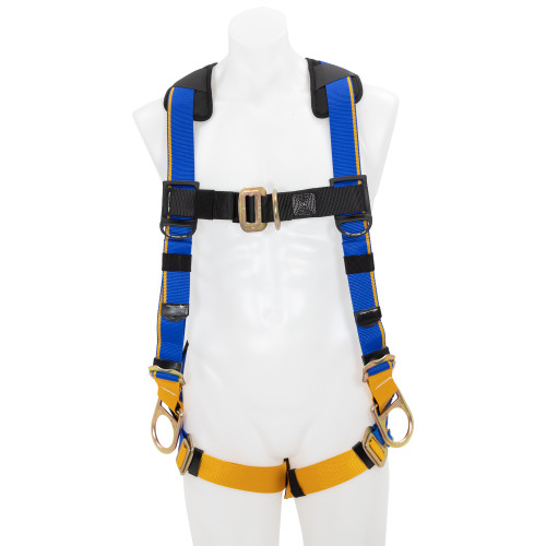 H23100_ Blue Armor 1000 Positioning Harness, Pass Through Legs by Werner