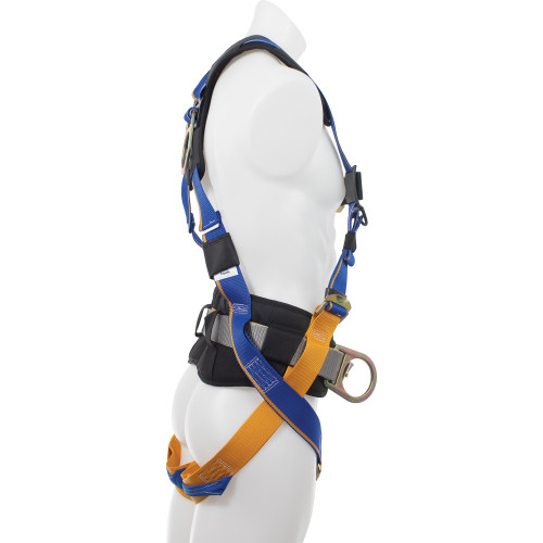 H23110_ Blue Armor 1000 Construction Harness, Pass Through Legs by Werner