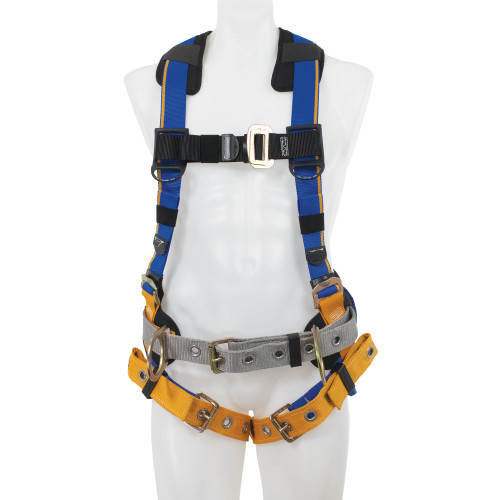 H23210_ Blue Armor 1000 Construction Harness, Tongue Buckle Legs by Werner
