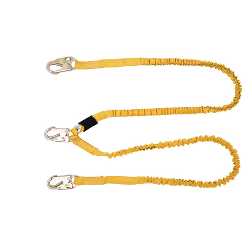 C451100 SoftCoil Twinleg Lanyard (Snaphooks) - 6 Ft by Werner