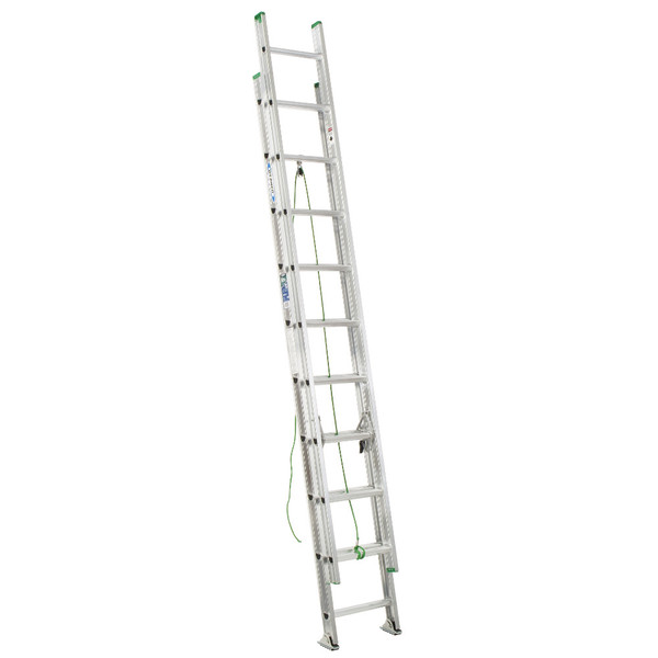 Werner D1200-2 Series Aluminum Extension Ladder // 225 lb Rated