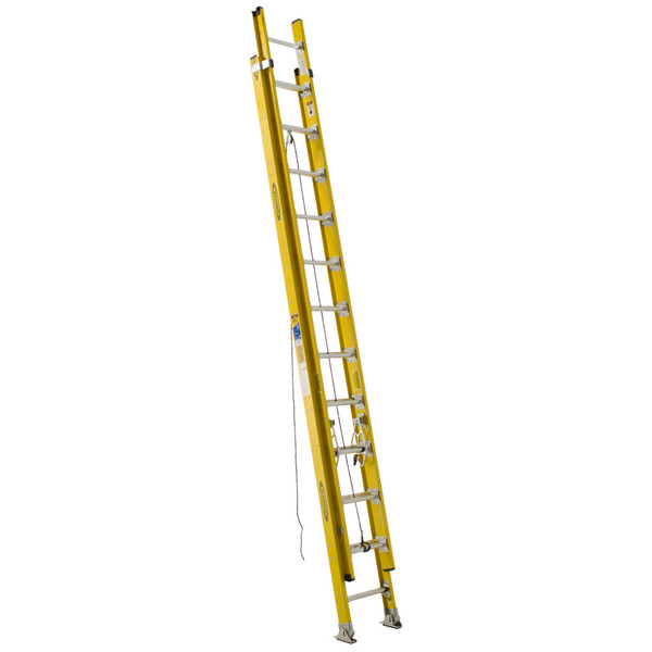 Werner D7100-2 Series Fiberglass Extension Ladder // 375 lb Rated