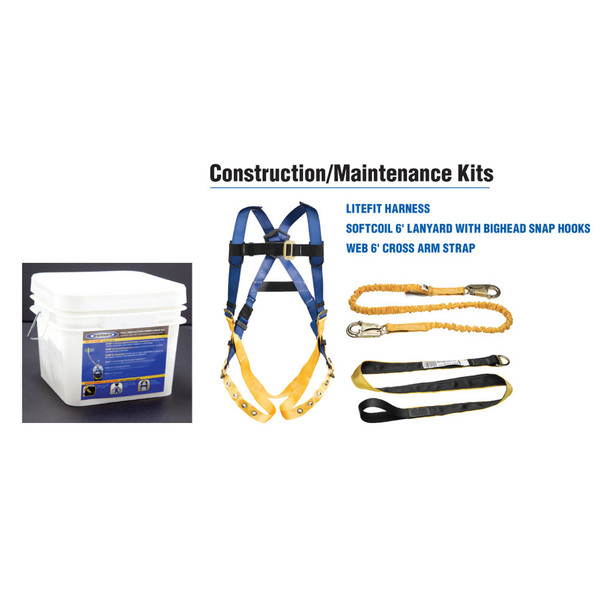 K122001 Construction & Maintenance Fall Protection Kit by Werner