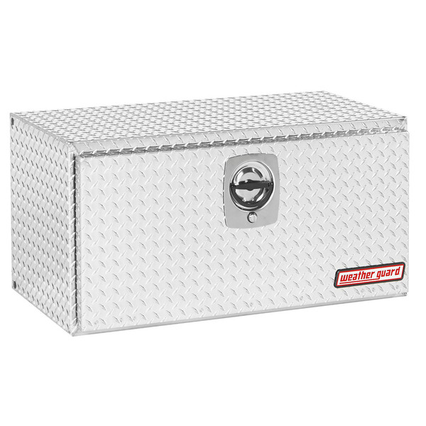 Weather Guard 636-0-02 Underbed Box // Aluminum, Compact, 6.5 Cubic Ft