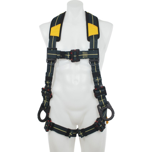 H93400_ Blue Armor Arc Flash Dielectric Harness Positioning / Pass Thru Legs by Werner