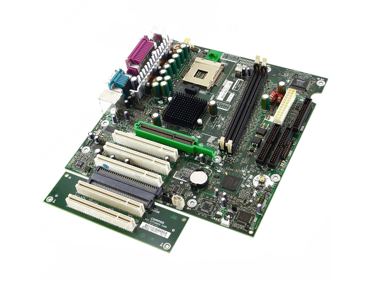 409647-001 - HP System Board (MotherBoard) NOCONA Dual Processor 800Mhz FSB  Socket-604-Pins for XW8200 Workstation