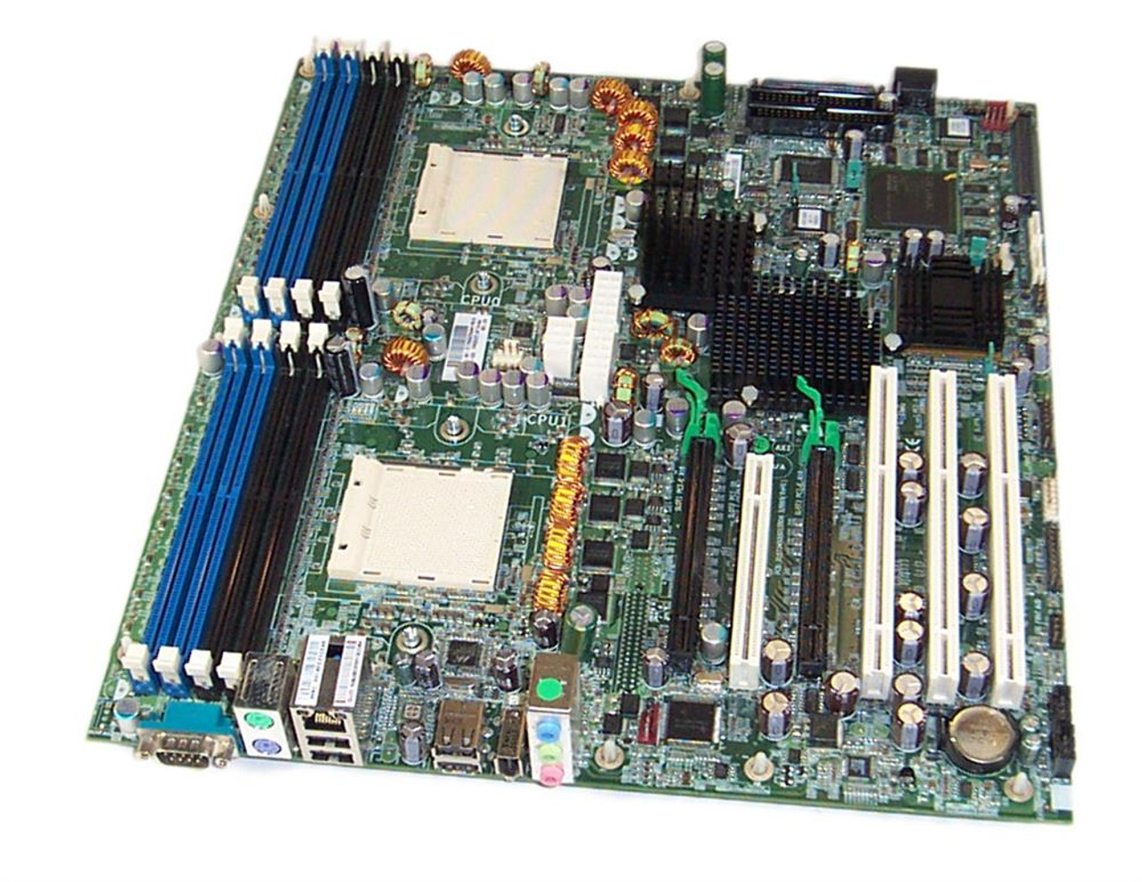 409665-001 - HP System Board (MotherBoard) Dual Processor ATX Form Factor  for XW9300 Workstation