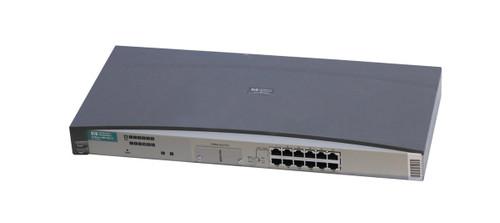 J3300A - HP ProCurve 10Base-T Ethernet Hub 12-Ports 1 Transceiver Slot