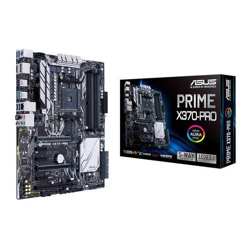 Asus PRIME X370-PRO Socket AM4/ AMD X370/ DDR4/ Quad CrossFireX & Quad SLI/ SATA3&USB3.1/ M.2/ A&GbE/ ATX Motherboard