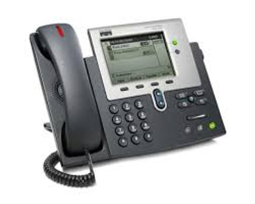 Cisco Unified IP Phone 7942G VoIP phone SCCP, SIP-Silver, dark gray