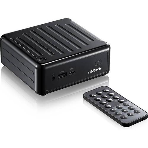 ASRock BEEBOX N3050-2G32SW10/B/US Intel Celeron N3050 1.6GHz/ 2GB DDR3L/ 32GB eMMC/ No ODD/ Windows 10 Home Desktop PC (Black)