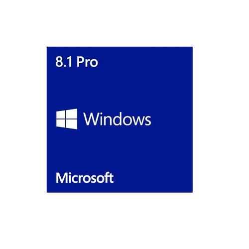 Microsoft Windows 8.1 Pro Operating System 64-bit English (1 Pack), OEM