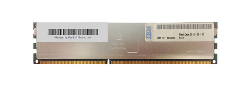 00D4964 - IBM 16GB (1X16GB) 240-Pin HCDIMM - PC3-10600 CL9 ECC DDR3 1333MHz Memory Module for I