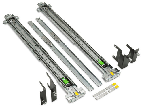 B8S55AA - HP Depth Adjustable Rail Kit For Z600 Z620 Z800 Z820 Workstations Rack Cabinet Complete Mount Kit
